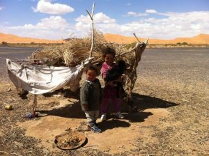 Desert child of Morocco