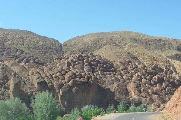 this rock formation is called monkey fingers
